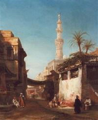 mosquée au caire by etienne raffort