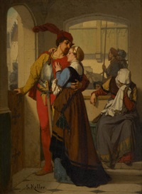le tendre départ by wilhelm (guillaume) koller