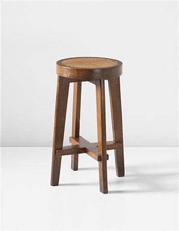 stool model no pj si 21 a designed for the panjab university science department chandigarh by pierre jeanneret