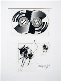the rolling stones, steel wheels, urban jungle by andie airfix