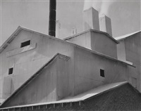 plaster works, los angeles by edward weston
