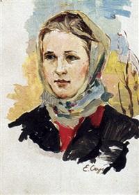 la jeune postière by nicolai babasiouk