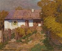 vesnický domek, nedatováno by otokar hurka