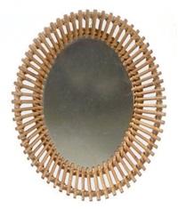 miroir ovale by audoux-minet