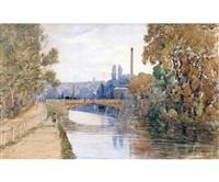 the foundry bridge, norwich by john joseph cotman