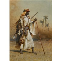 on the way from sinai to cairo by carl haag