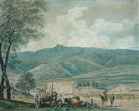 le repos des bergers by joseph-sebastien constantin
