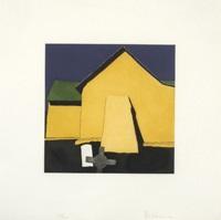 la sombra del machon atras de la capilla de san antonio en chacon by harold joe waldrum