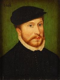 portrait de gentilhomme by françois clouet