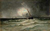 marina in tempesta by eugénio amus