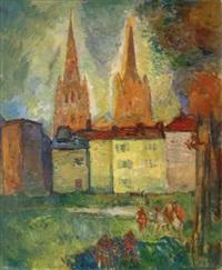 bayonne, la cathédrale by henri saada