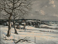 snow hampshire by george bissill