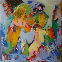 mascarade n°1 by luc lerouge
