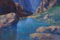 rock pool by anton benzon
