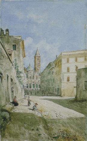 via merulana a smaria maggiore by daniele bucciarelli