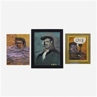 untitled, our first president and phisters mother (three works) by robert loughlin