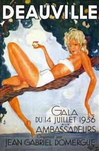 deauville by jean-gabriel domergue