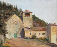opuštěný klášter san giacomo u dubrovníka by arnost hofbauer