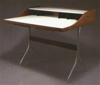 Swagged Leg Schreibtisch, 1956u20131958. George Nelson