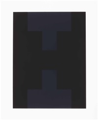 10 screenprints (set of 10) by ad reinhardt