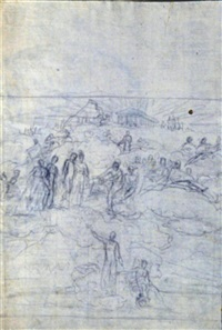 la polis; profilo femminile; cavallo (3 works) by gaetano forte
