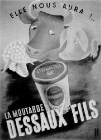 elle nous aura: la moutarde dessaux fils by edgard derouet