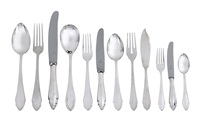 cutlery set in 432 items by josef karl klinkosch