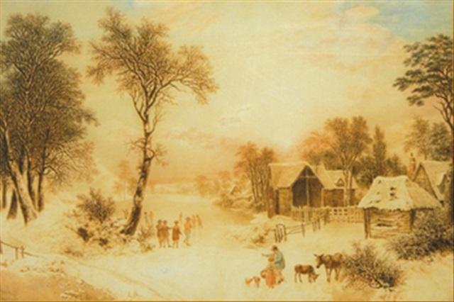 the four seasons (set of 4) by joshua wallis