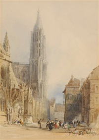 strassbourg cathedral by henry grant lloyd