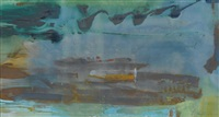 winter shore by helen frankenthaler