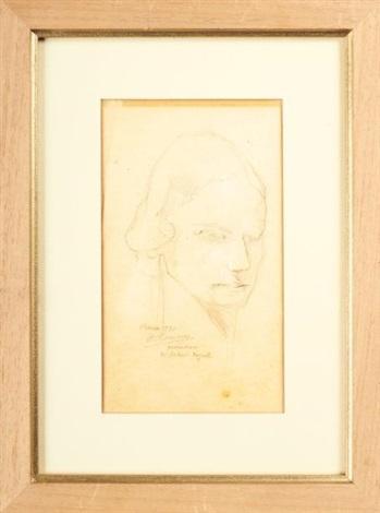 portrait de mademoiselle ingal ottawa (study for la france heureuse) by alfred louis courmes