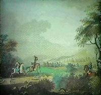 ryttere med hunde pa harejagt by johanne marie (mme. westengaard) fosie