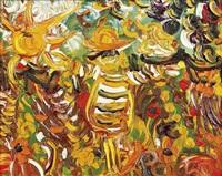 scarecrow in market garden by john de burgh perceval
