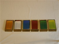six part arbitrary colour collection (in 6 parts) by ciaran lennon