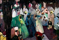le marché oriental by henri dabadie