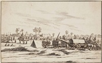 a military encampment by josua de grave