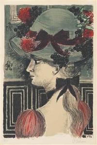 chapeau 1900 by paul delvaux