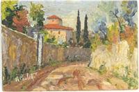 italian landscape - ii by renzo paoletti