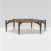 rare octagonal coffee table by greta magnusson grossman