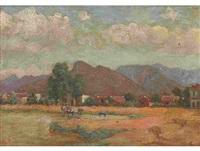 pastoral cape landscape by george salisbury smithard