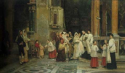 the baptism by juan gimenez y martin