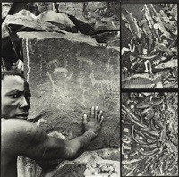 african diptych by peter beard