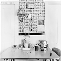 living room, enfield, new hampshire and kitchen detail, enfield, new hampshire (2 works) by walker evans