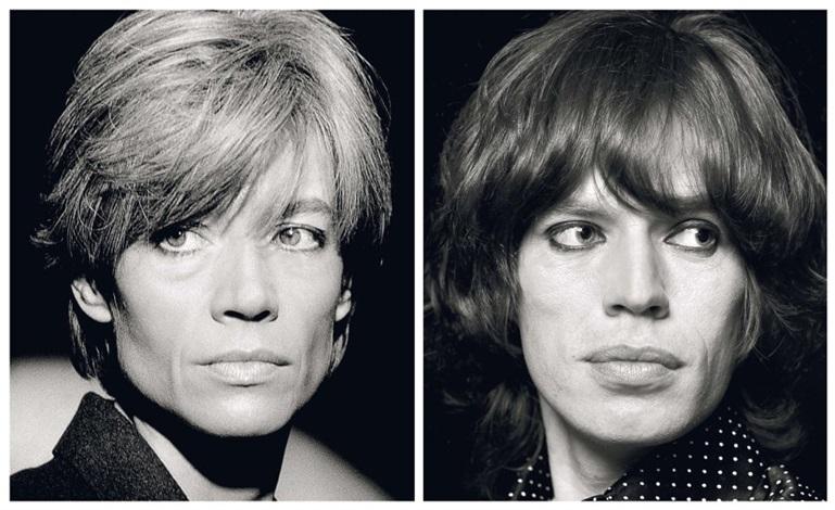 Françoise Hardy, Mick Jagger by Jean-Marie Périer on artnet