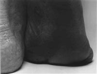 self portrait (heel, dark sole) by john coplans