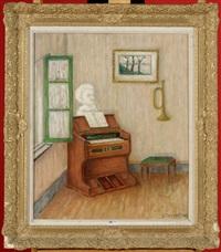 intérieur à l'orgue by louis thevenet