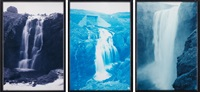 waterfall (in 3 parts) by olafur eliasson