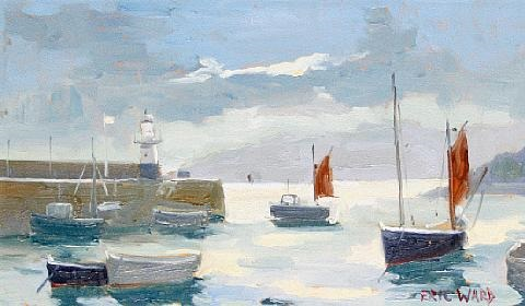 st ives harbour by eric ward