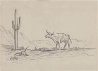 steer in the desert by will james