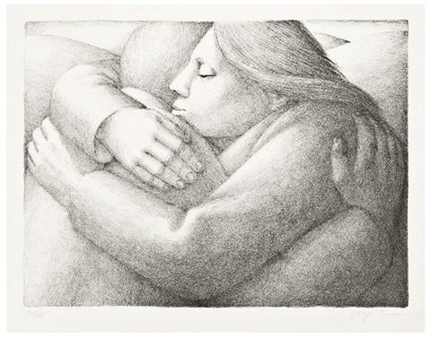 the embrace ii by george tooker